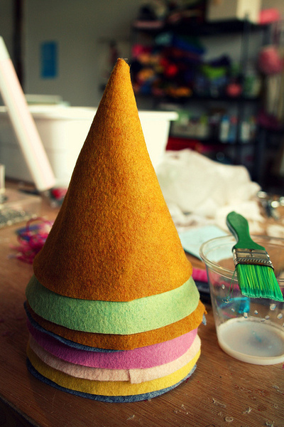dunce hat template - felt birthday hats how to make a party hat decorating
