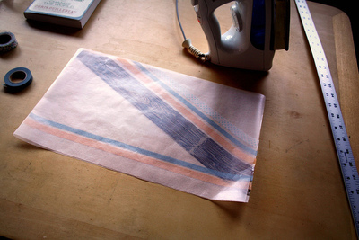 How to make a paper book cover. Waxed Paper Book Covers - Step 7