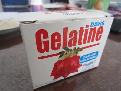 How to create art / a model. Gelatine Plastic! - Step 1