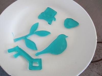 How to create art / a model. Gelatine Plastic! - Step 13