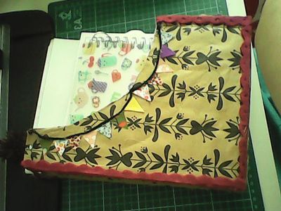 How to make a box. Pigeon Holder - Step 3