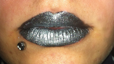 How to create a lip makeup look. Ke$Ha Inspired Lips - Step 3