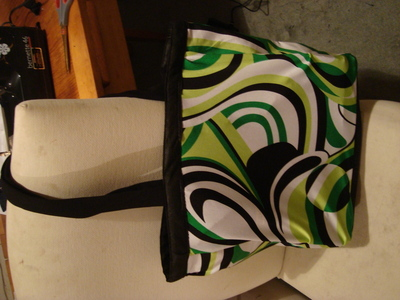 How to make a tote bag. Up Cycled Funky Shopping Bag - Step 9
