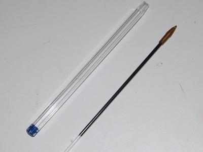 How to make a vial. Hourglass Necklace - Step 2