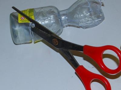 How to make a vial. Hourglass Necklace - Step 6