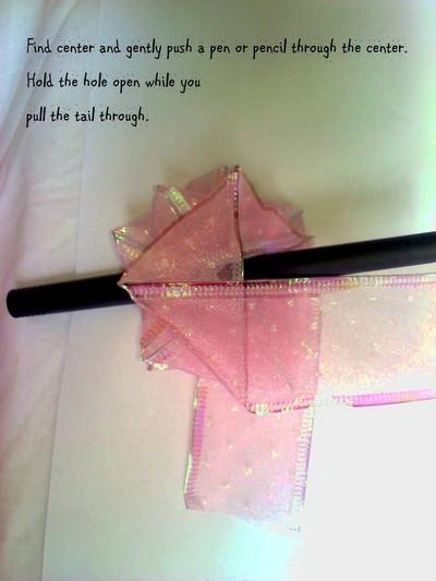 How to create art / a model. Folded Ribbon Rose - Step 6