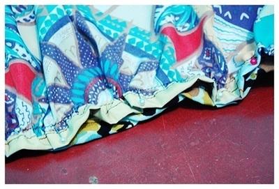 How to sew a maxi dress. Boho Maxi Dress - Step 4