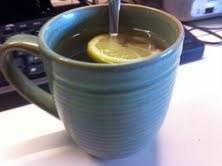 How to make a tea. Lemon Raspberry Tea - Step 5