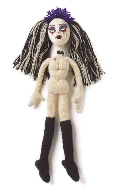 How to make a rag dolls / a person plushie. Violetta Gothic Doll - Step 7