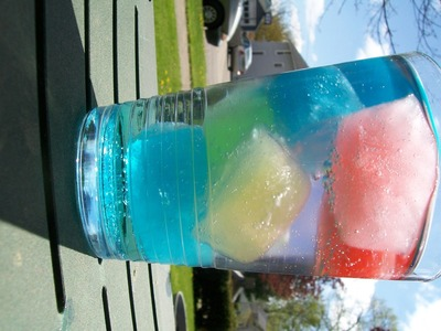 How to make a soda. Rainbow Soda - Step 3