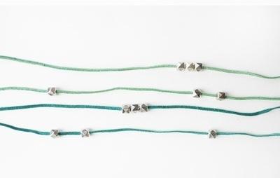How to braid a braided bead bracelet. Ombre Wrap Abacus Bracelets - Step 2
