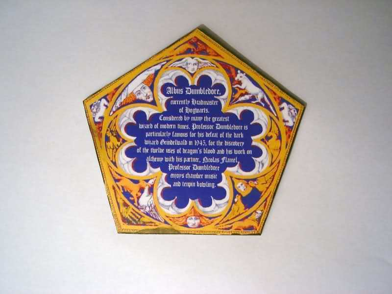 chocolate frog wizard card template - 28 images - the empty suitcase ...