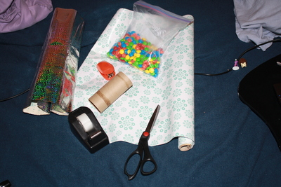 How to make a recycled box. Upcycled Tp Rolls - Step 1