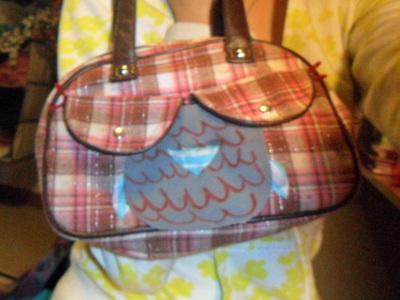 How to make a handbag. From A Boob Purse To An Owl:P - Step 6