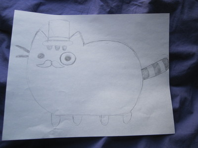 How to make a cat plushie. Pusheen Plushie - Step 1
