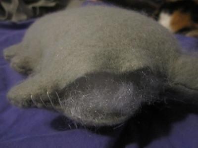 How to make a cat plushie. Pusheen Plushie - Step 16