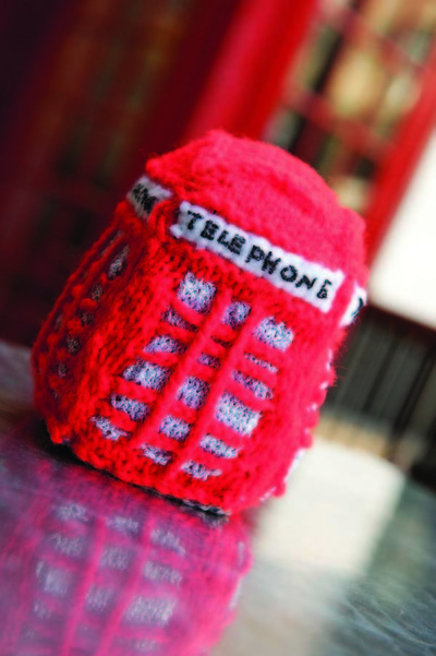 How to make an object plushie. Telephone Box Plushie - Step 2