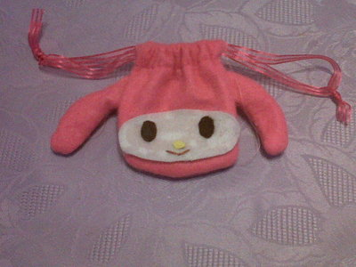 How to sew a fabric character pouch. My Melody Pouch - Step 10