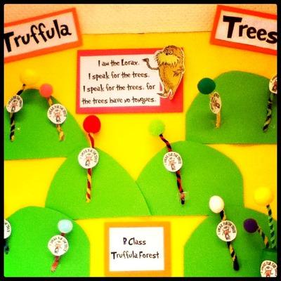 How to create art / a model. Truffula Trees - Step 4