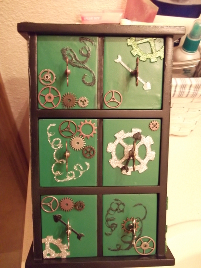 How to make a drawer. Wicked Jewelry Box - Step 38