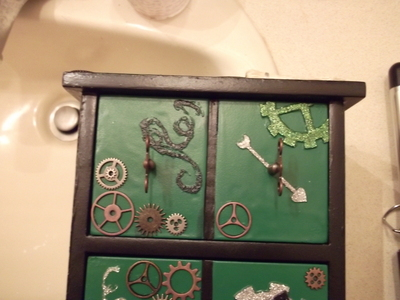 How to make a drawer. Wicked Jewelry Box - Step 33