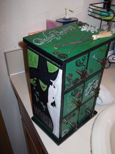 How to make a drawer. Wicked Jewelry Box - Step 43