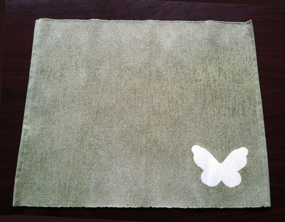 How to make a placemat. Spring Place Mats - Step 6