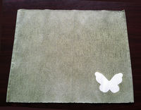 Small sage green placemats