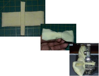 How to make a bow top. Lanvin Inspired Bow Tee - Step 7