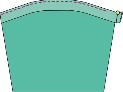 How to sew a romper. The Romper - Step 32