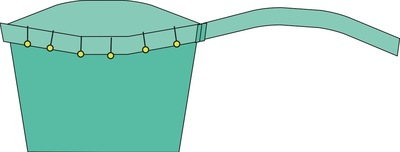 How to sew a romper. The Romper - Step 31