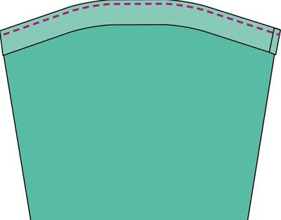 How to sew a romper. The Romper - Step 34