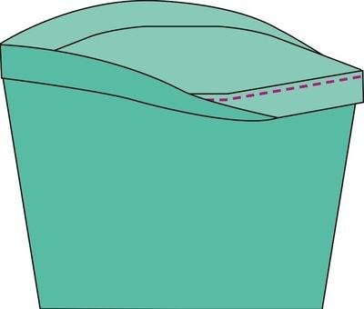 How to sew a romper. The Romper - Step 35