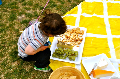 How to make a picnic blanket . Patterned Picnic Blanket For Less Than $10 - Step 2
