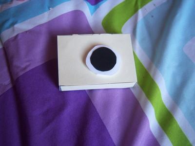 How to make a camera pendant. Camera Necklace - Step 4