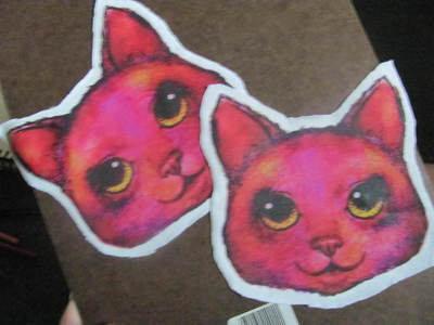 How to sew a fabric animal pouch. Cat Coin Purse - Step 4