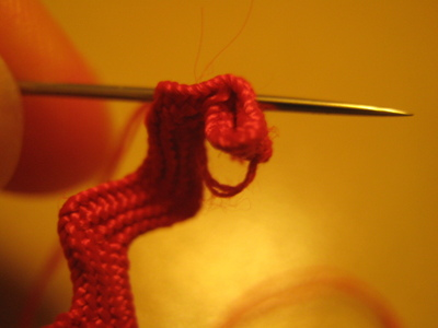 How to make a lace hair bow. Lovely Rose And Lace Hairpin - Step 4