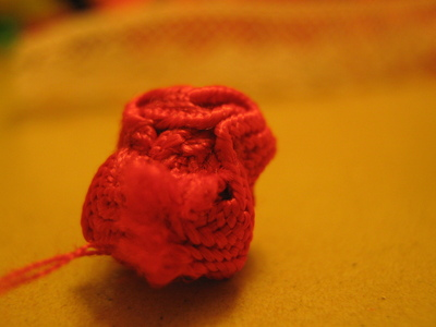 How to make a lace hair bow. Lovely Rose And Lace Hairpin - Step 7