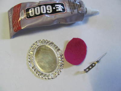 How to make a cameo. WORKING WITH RESIN: Make The Perfect Cameo Brooch - Step 10