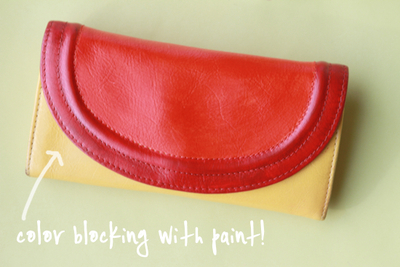 How to make a wallet. Color Block Wallet Diy - Step 3