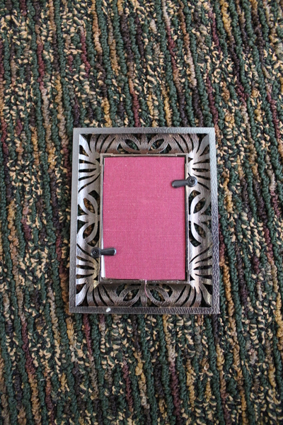 How to make a recycled photo frame. Book Into Photo Frame  - Step 5