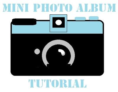 How to make a recycled book. Mini Photo Album Tin - Step 1