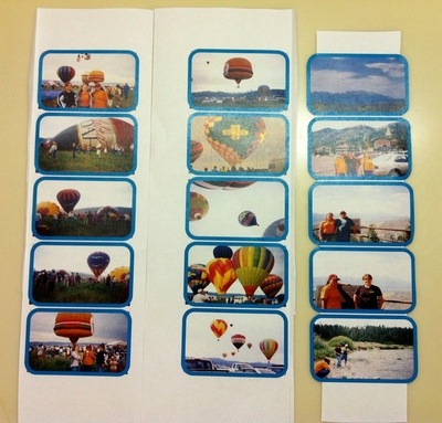 How to make a recycled book. Mini Photo Album Tin - Step 8