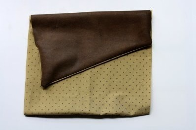 How to make a leather clutch. Leather Clutch - Step 3