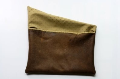 How to make a leather clutch. Leather Clutch - Step 8