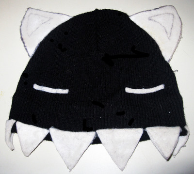 How to make an animal hat. Kamineko Hat - Step 2