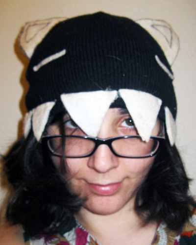 How to make an animal hat. Kamineko Hat - Step 3
