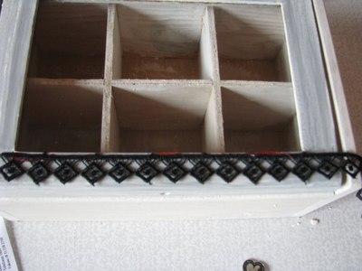 How to make a box. Goth Box - Step 10