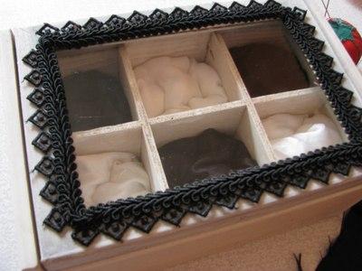 How to make a box. Goth Box - Step 12