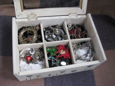 How to make a box. Goth Box - Step 16